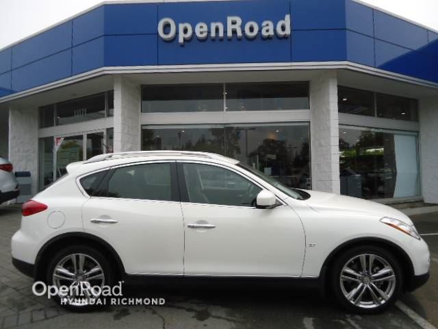 2014 INFINITI QX50 Journey AWD- low km in Richmond, British Columbia