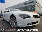 2006 BMW 6 Series Ci WITH LEATHER AND NAV in Calgary, Alberta