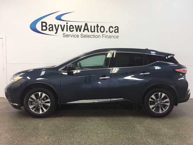 2017 NISSAN MURANO SV- AWD! REM STRT! PANOROOF! HTD SEATS! REV CAM! in Belleville, Ontario