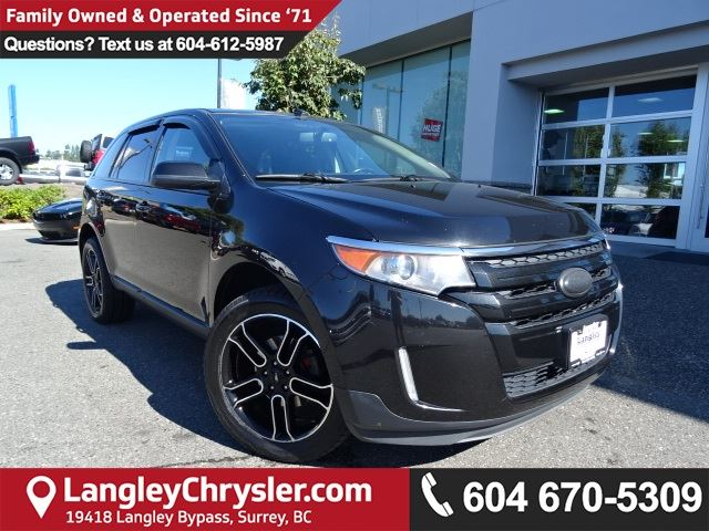2013 FORD EDGE SEL *LOCALLY OWNED*DEALER INSPECTED* in Surrey, British Columbia