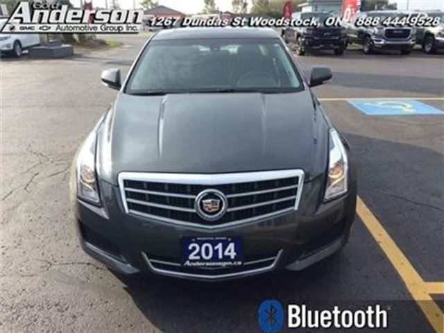 2014 cadillac ats 2 0 turbo luxury leather seats woodstock ontario car for sale 2867000. Black Bedroom Furniture Sets. Home Design Ideas