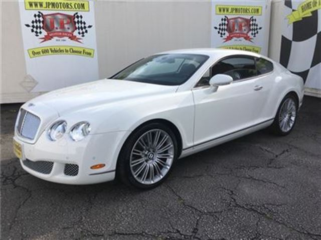 2008 BENTLEY CONTINENTAL Speed, Auto, Navi, Leather, AWD, Only 34, 000km in Burlington, Ontario