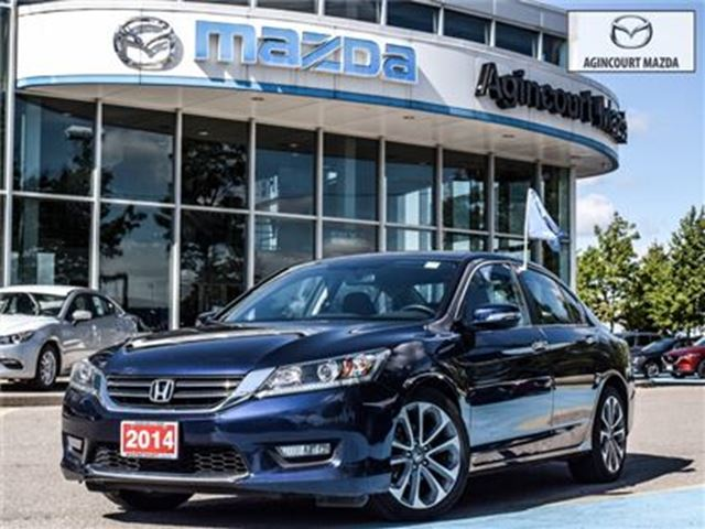 2014 HONDA Accord Sport** BACKUP CAM AND HEATED SEATS in Scarborough, Ontario