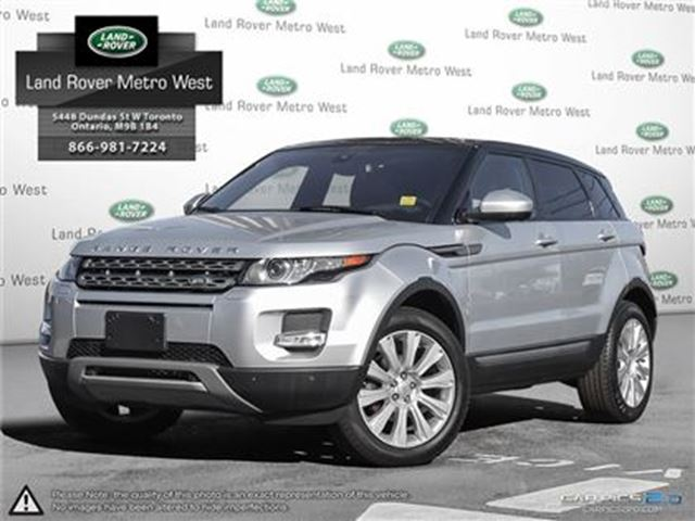 2015 LAND ROVER RANGE ROVER EVOQUE 2.9% TO 72MONTHS, WTY TO 160,000KM in Toronto, Ontario