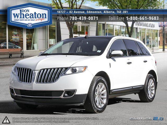 2013 LINCOLN MKX AWD Loaded Finance Available in Edmonton, Alberta