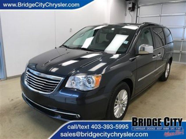 2013 CHRYSLER TOWN AND COUNTRY Limited- Dual DVD, Sunroof, Trailer Tow Group! in Lethbridge, Alberta