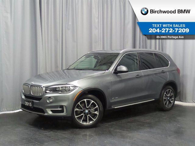 2015 BMW X5 xDrive50i LED Lighting, Ventilated Seats! BANG & OLUFSEN Sound System! in Winnipeg, Manitoba