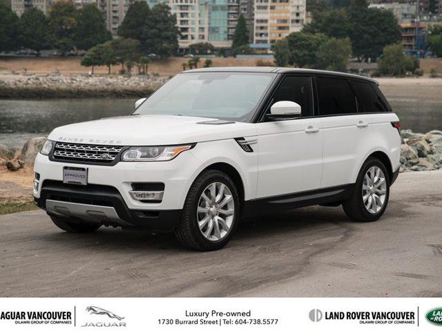 2014 LAND ROVER RANGE ROVER Sport V6 HSE (2) in Vancouver, British Columbia