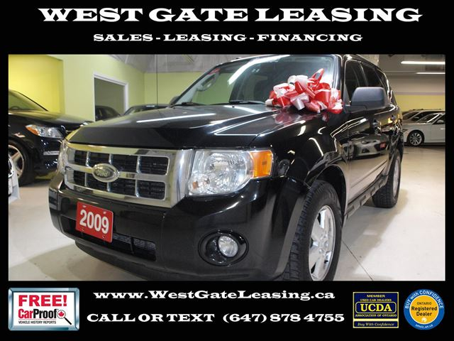 2009 FORD Escape XLT 4WD V6  AUTOMATIC   in Vaughan, Ontario