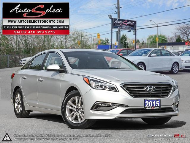 2015 HYUNDAI SONATA ONLY 22K! **BACK-UP CAMERA** CLEAN CARPROOF in Scarborough, Ontario