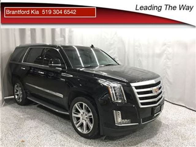 2015 CADILLAC ESCALADE Premium   22 inch wheels   DVD in Brantford, Ontario