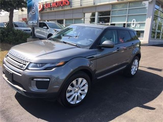 2017 LAND ROVER RANGE ROVER EVOQUE SE Si4 Tech Package in Mississauga, Ontario