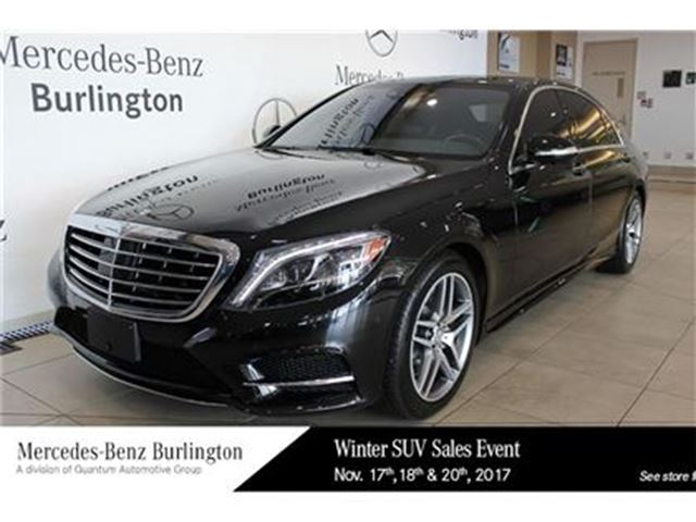 Used 2015 mercedes benz s550 gas 4matic sedan lwb for Mercedes benz st catharines