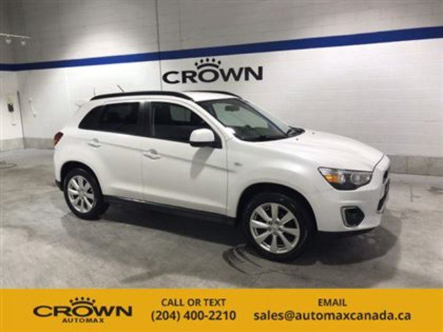 2015 MITSUBISHI RVR SE Limited Edition! *AWD/ Heated Seats/ 10 year wa in Winnipeg, Manitoba