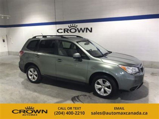 2015 SUBARU FORESTER 5dr Wgn CVT 2.5i Convenience in Winnipeg, Manitoba