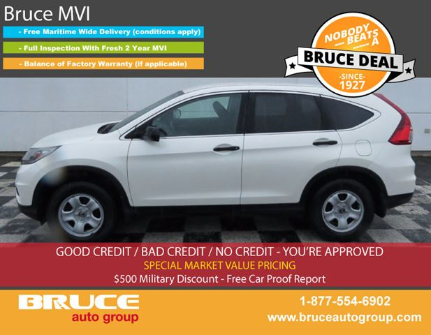 2015 HONDA CR-V LX 2.4L 4 CYL I-VTEC CVT AWD in Middleton, Nova Scotia