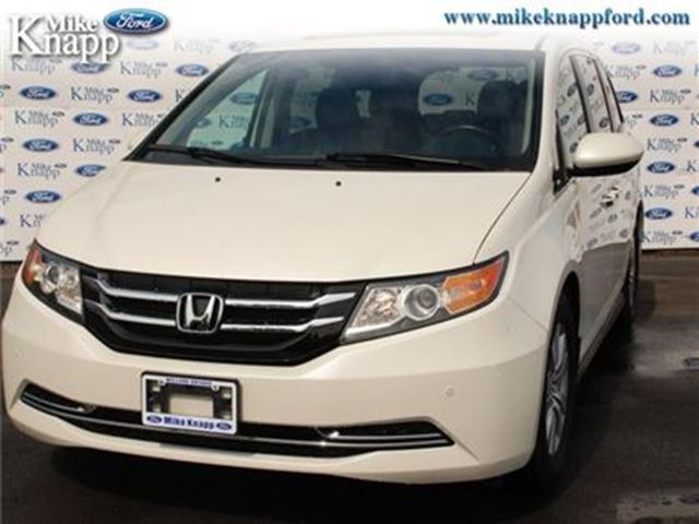 2015 HONDA ODYSSEY EX-L - Sunroof -  Leather Seats -  Bluetooth in Welland, Ontario