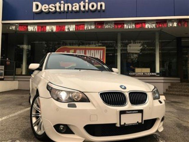 2008 BMW 5 SERIES i in Vancouver, British Columbia