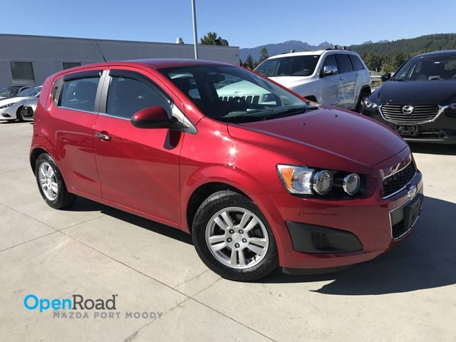 2014 CHEVROLET SONIC LT Local A/T A/C Bluetooth USB AUX Cruise Contr in Port Moody, British Columbia