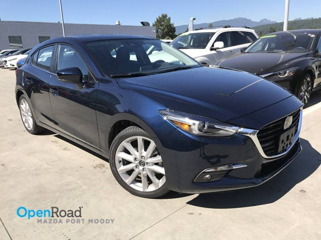2017 MAZDA MAZDA3 GT A/T  HB No Accident Local One Owner Low Kms  in Port Moody, British Columbia