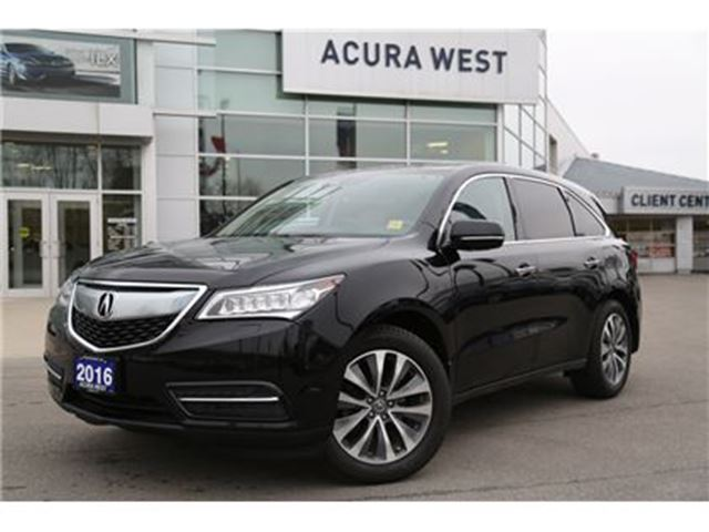 2016 ACURA MDX Navigation with trailer hitch in London, Ontario