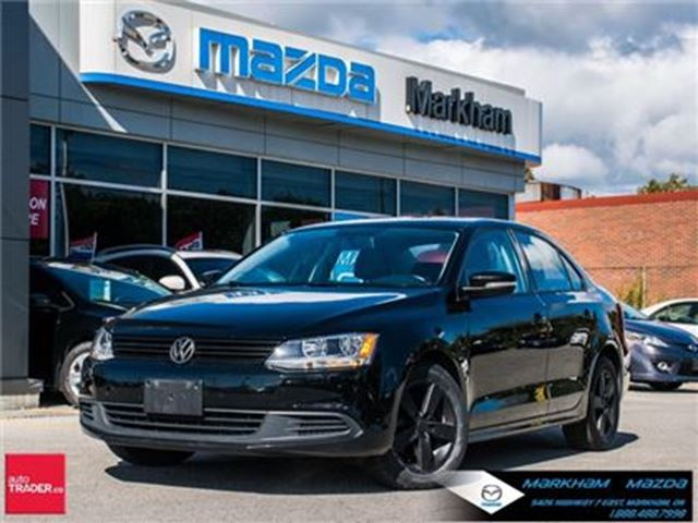 2013 VOLKSWAGEN JETTA 2.5L Comfortline (A6) ACCIDENT FREE MOONROOF in Markham, Ontario