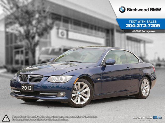 2013 BMW 3 SERIES 328 i 328i Cabriolet! Navigation! Connected Technology in Winnipeg, Manitoba