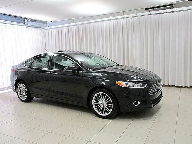 2015 FORD FUSION SE AWD 2.0L ECOBOOST w/ NAV, LEATHER, MOONROOF  in Halifax, Nova Scotia