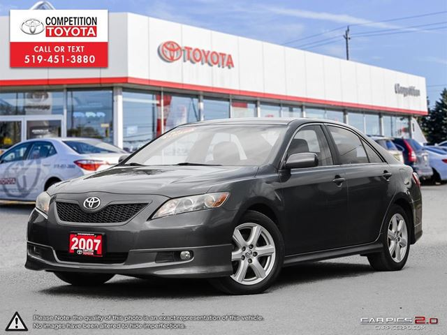 2007 TOYOTA Camry SE AS-IS, One Owner, No Accidents, Toyota Serviced in London, Ontario