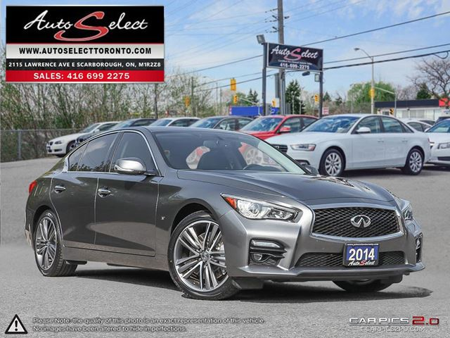 2014 INFINITI Q50 AWD ONLY 53K! **SPORT MODEL** TECHNOLOGY PKG in Scarborough, Ontario