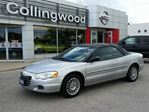 2006 Chrysler Sebring *LOW KM'S* in Collingwood, Ontario