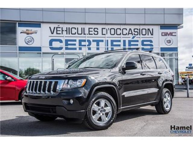 2013 JEEP Grand Cherokee LAREDO 4X4 V6 ATTACHE REMORQUE D'ORIGIN in Montreal, Quebec