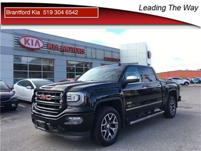 2016 GMC SIERRA 1500 Nav   Leather   Sunroof   bose in Brantford, Ontario