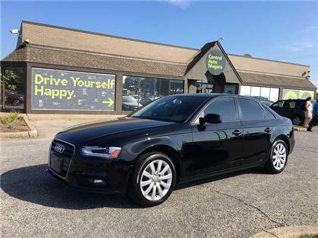 2013 AUDI A4 PREMIUM-QUATTRO / LEATHER / SUNROOF in Fonthill, Ontario