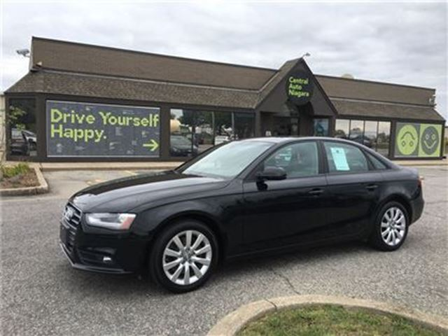 2013 AUDI A4 PREMIUM- QUATTRO / LEATHER / SUNROOF in Fonthill, Ontario