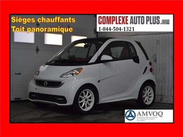 2015 SMART FORTWO Passion *Navi/GPS, Toit panoramique in Saint-Jerome, Quebec