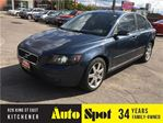 2005 Volvo S40 2.4L/WOW !/PRICED FOR A QUICK SALE ! in Kitchener, Ontario