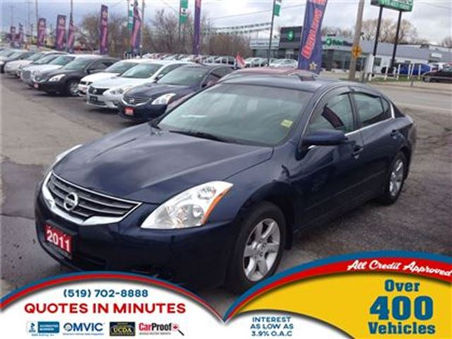 2011 NISSAN ALTIMA 2.5 S * OPEN EVERY SUNDAY * COME PICK YOUR CAR in London, Ontario