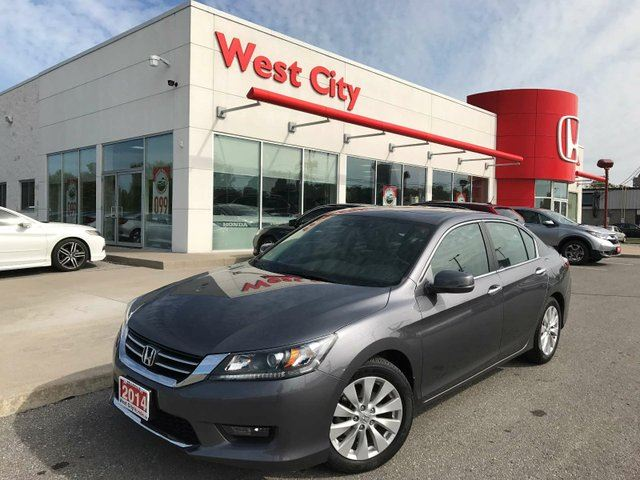 2014 HONDA Accord EX-L,NO ACCIDENTS,LEATHER! in Belleville, Ontario