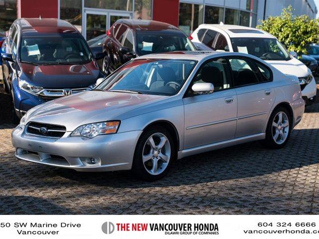 2006 SUBARU LEGACY Sedan 2.5 I at in Vancouver, British Columbia