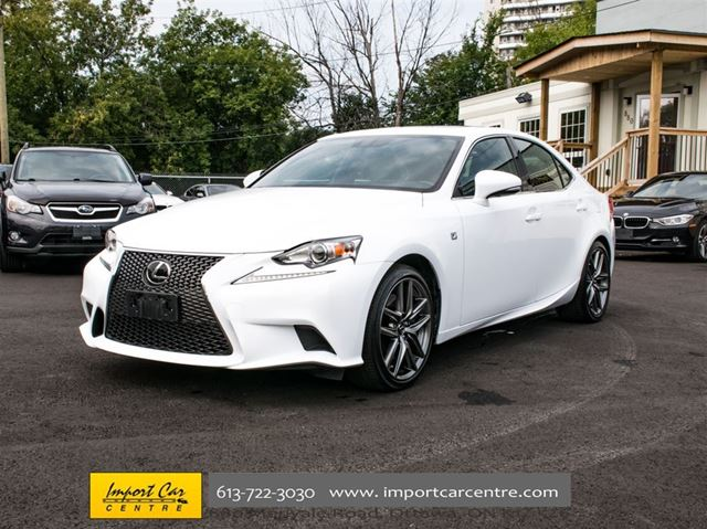 2016 lexus is 300 awd f sport ottawa ontario car for sale 2870161. Black Bedroom Furniture Sets. Home Design Ideas