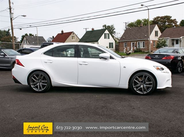 2016 lexus is 300 awd f sport ottawa ontario car for. Black Bedroom Furniture Sets. Home Design Ideas