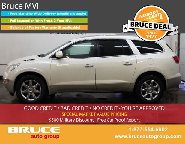 2008 BUICK ENCLAVE CXL 3.6L 6 CYL AUTOMATIC AWD in Middleton, Nova Scotia