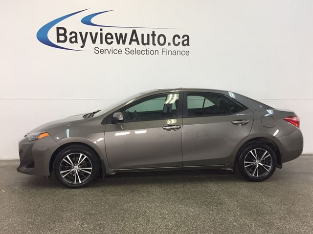 2017 TOYOTA COROLLA LE- ALLOYS! ROOF! HTD SEATS! REV CAM! CRUISE! in Belleville, Ontario