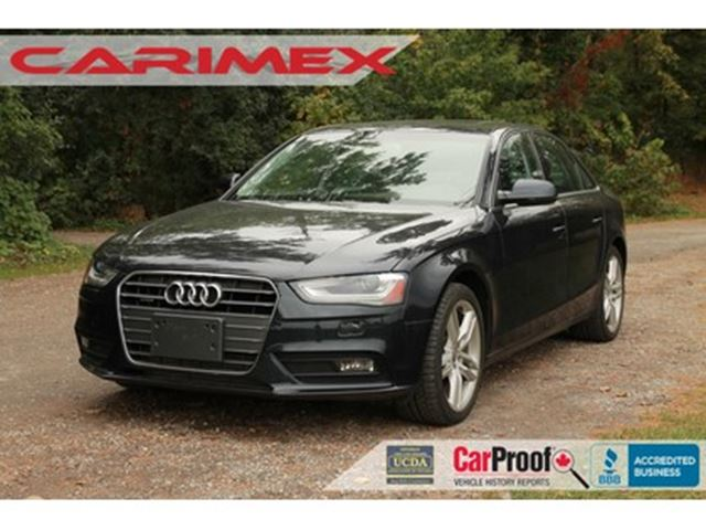 2013 AUDI A4 2.0T Premium Plus in Kitchener, Ontario