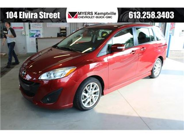 2017 MAZDA MAZDA5 GT Leather and Sunroof!! in Kemptville, Ontario