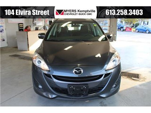 2017 MAZDA MAZDA5 GT Sunroof and Leather!!! in Kemptville, Ontario