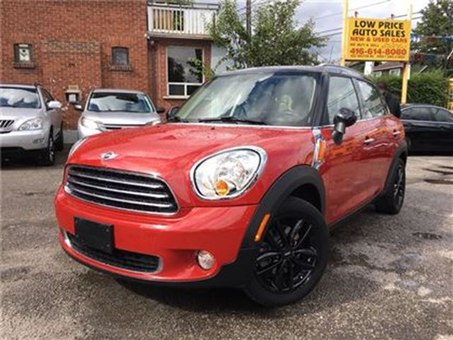 2013 MINI COOPER Countryman PanoraicRoof, HtdSeats, Leather&Warranty* in Toronto, Ontario