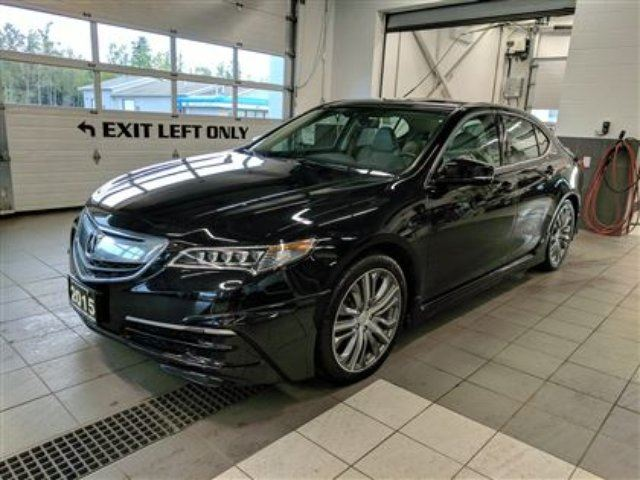 2015 acura tlx clearout 30995 awd tech package black balmoral park acura. Black Bedroom Furniture Sets. Home Design Ideas