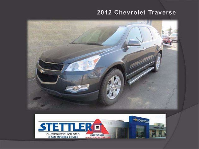 2012 CHEVROLET TRAVERSE 2LT All-wheel Drive in Stettler, Alberta